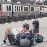 A plecat un tren din gară...